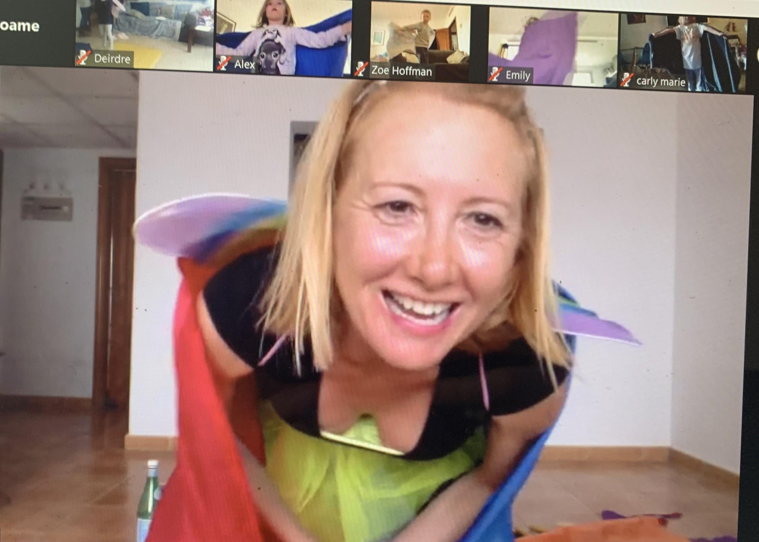 Emma Sabin Supercala interactive story telling