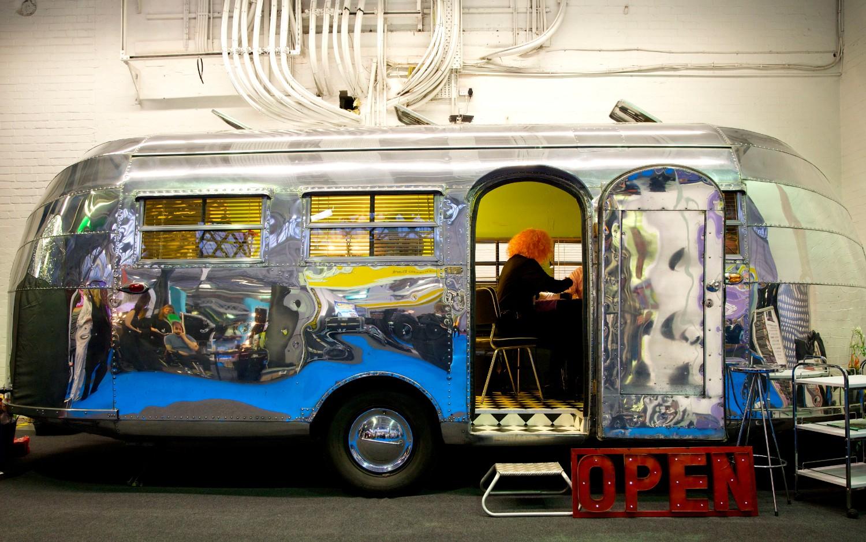 Event equipment Airstream mobile salon