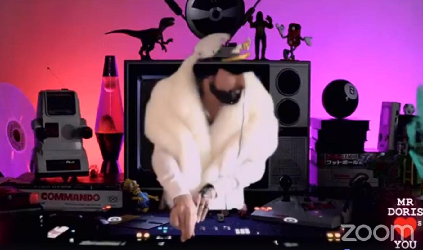Live streamed DJ